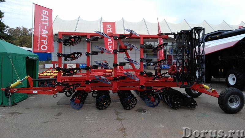 Бороны дисковые БДМ-П БАРС трехрядные на пружинной стойке от 2,1 до 9,1 метров - Сельхоз и спецтехни..., фото 2