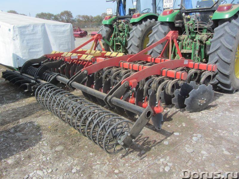Бороны дисковые БДМ-П БАРС трехрядные на пружинной стойке от 2,1 до 9,1 метров - Сельхоз и спецтехни..., фото 5