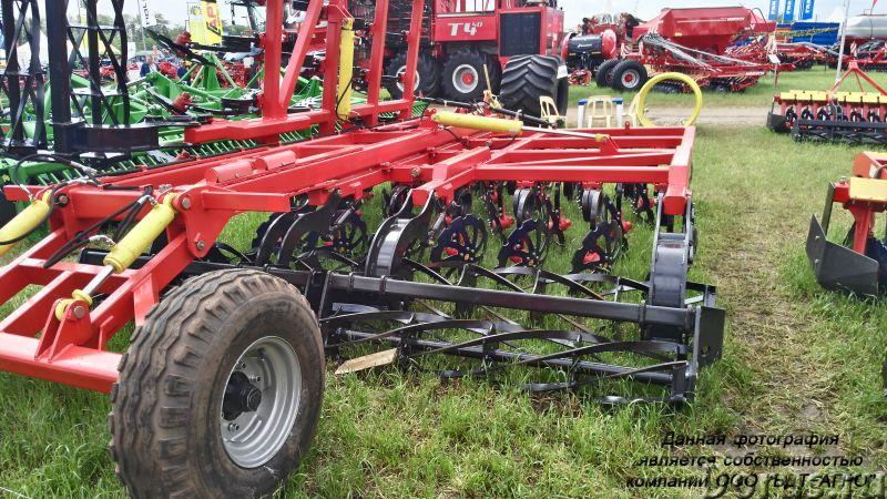 Бороны дисковые БДМ-П БАРС трехрядные на пружинной стойке от 2,1 до 9,1 метров - Сельхоз и спецтехни..., фото 7