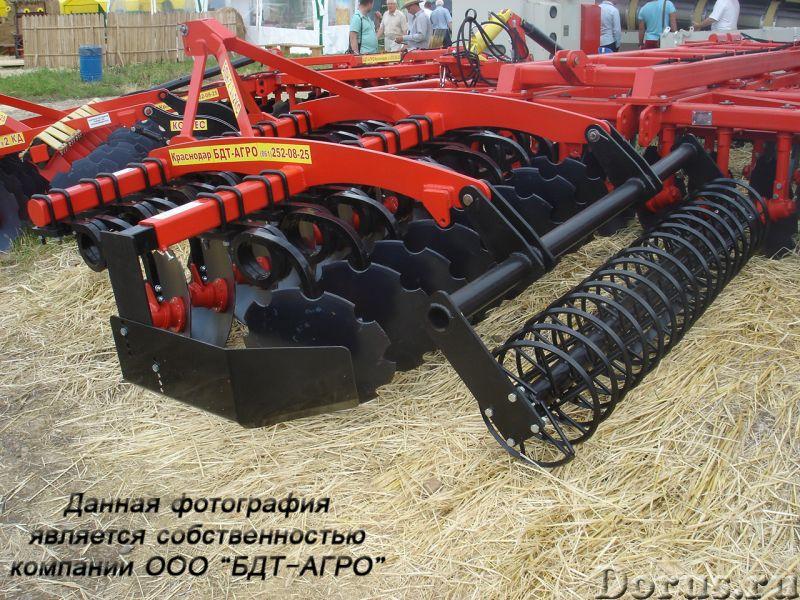 Бороны дисковые БДМ-П БАРС трехрядные на пружинной стойке от 2,1 до 9,1 метров - Сельхоз и спецтехни..., фото 8