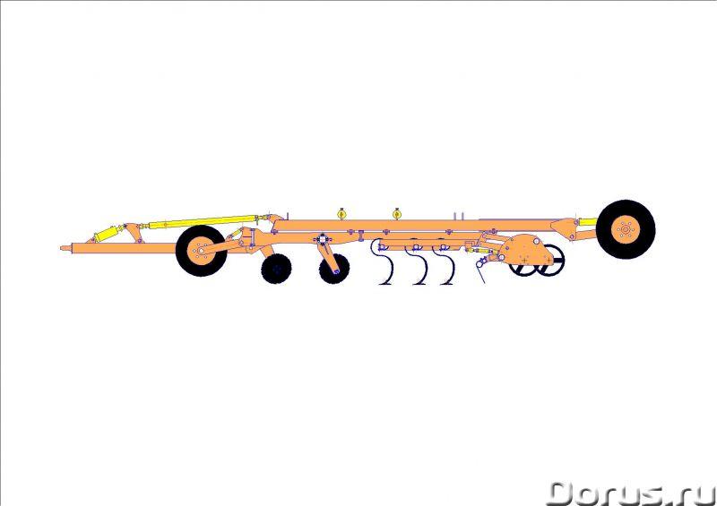 Бороны диско-культиваторные (Дискокультиватор) БДК от 3,1 до 9,1 метров - Сельхоз и спецтехника - Бо..., фото 2