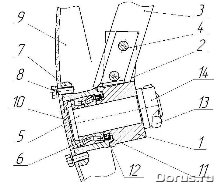Необслуживаемые подшипниковые узлы для дисковых борон - Запчасти и аксессуары - Необслуживаемый подш..., фото 2